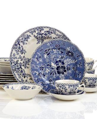 Dinnerware, Devon's Cottage 20-Piece Set, Service for 4