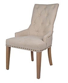 Emery Tufted Back Accent Chair