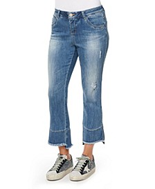 "Women's ""Ab"" Solution Kick Flare Jeans"