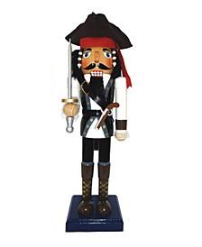 """14"""" Johnny Pirate Nutcracker"""