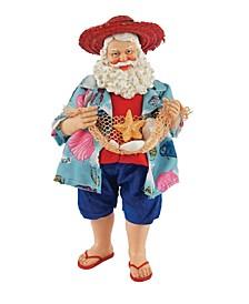 """10"""" Beach Party Santa"""