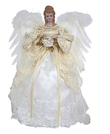 "16"" Coastal Angel Tree Topper"