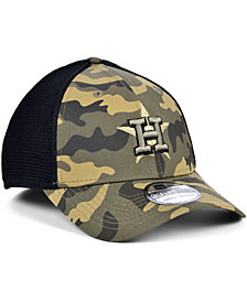 New Era Men's Houston Astros Camo Neo 39THIRTY Cap