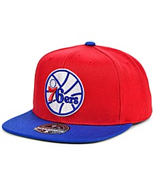 Philadelphia 76ers Wool 2 Tone Fitted Cap