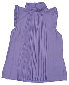 INC Pleated Knit Sleeveless Top, Created for Macy's