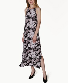 Juniors' Printed Maxi Dress
