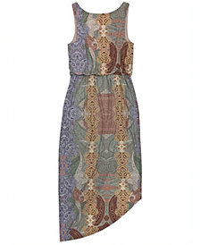 INC Plus Size Printed Sleeveless Dress, Created for Macy's