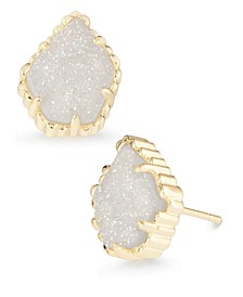 Drusy Stone Stud Earrings