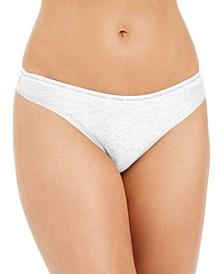 CK One Cotton Singles Thong Underwear QD3783