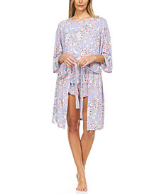Flora Mandie 3pc Travel Pajama Set