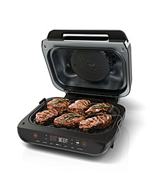 Foodi™ Smart XL 6-in-1 Indoor Grill with 4-Qt. Air Fryer, Roast, Bake, Broil, Dehydrate