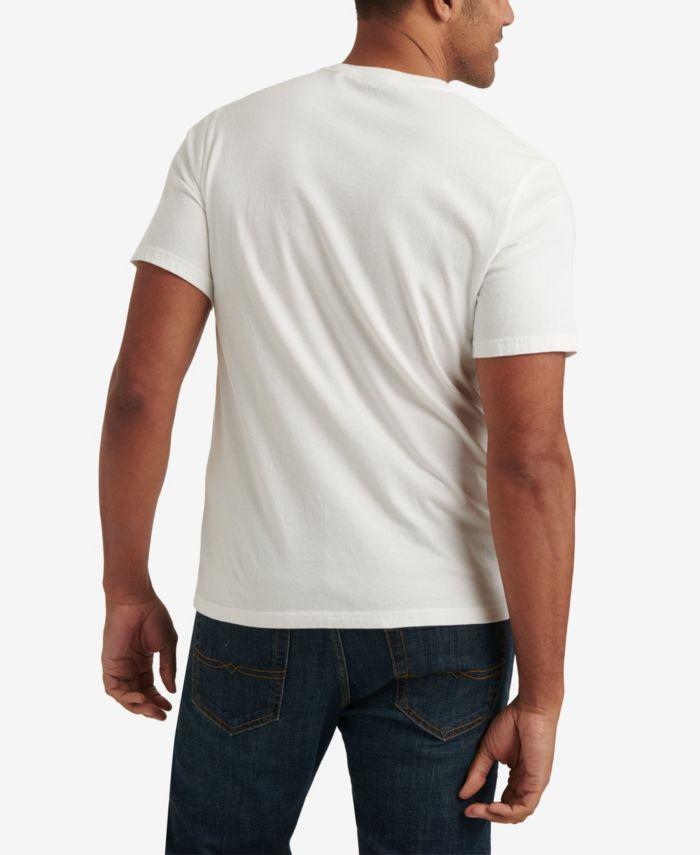 Lucky Brand Men's Sunset Chest Stripe Pocket Crew Neck T-shirt & Reviews - T-Shirts - Men - Macy's