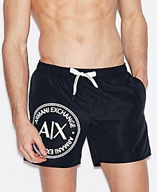 Men's AX Circle Swim Trunks