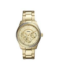 Men's Chapman Multi-Function Gold-Tone Bracelet Watch 42mm