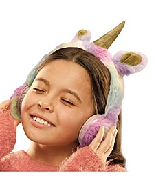 for Kids Headphones Plush Unicorn