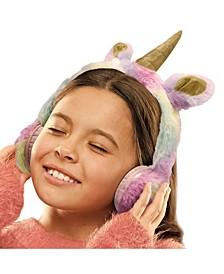 for Kids Headphones Plush Unicorn
