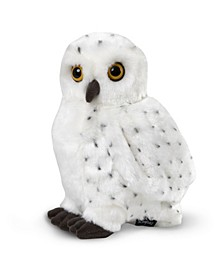 Toy Plush Realistic Owl