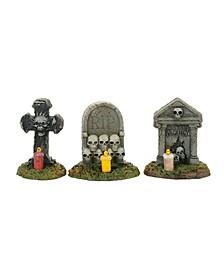 Spooky Graveyard Vigil Figurines