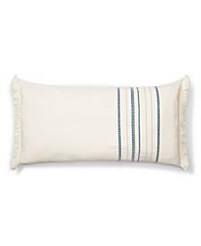 "Julianne Stripe Throw Pillow, 26"" X 14"""