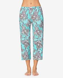 Women's Cropped Pajama Pant
