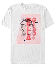 Men's La Casa De Papel Bella Ciao Warped Mask Short Sleeve T-Shirt