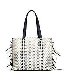 Lacey Bow Tote - Bow Colorblock