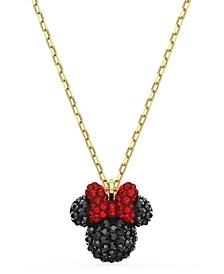 """Gold-Tone Crystal Minnie Pendant Necklace, 14-7/8"""" + 2"""" extender"""