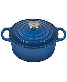 2-Qt. Signature Enameled Cast Iron Round Dutch Oven