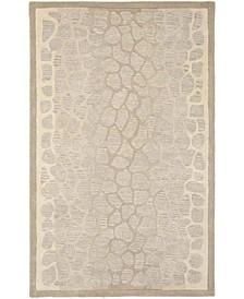 Arusha MSR3615B Tan 5' x 8' Area Rug