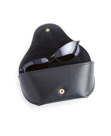 Suede Lined Sunglasses Carrying Case