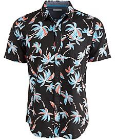 Men's Banana Tree Print Shirt, Created for Macy's