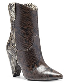 I.N.C. Women's Bevie Booties, Created for Macy's