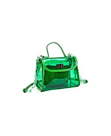 Jolly Rancher Clear See Through Satchel Set