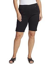 Women's Plus Size Avery Pull On Bermuda Short