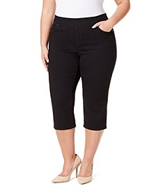 Women's Plus Avery Pull on Capri