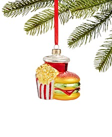 Foodie & Spirits, Hamburger & Fries Ornament, Created for Macy's