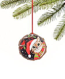 "Pets ""Meow-y Christmas"" Cat Ornament, Created For Macy's"