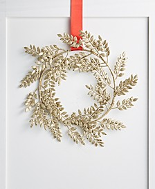 Shimmer and Light Gold Leaf Wreath, Created for Macy's