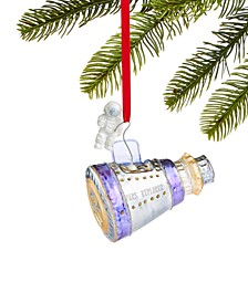 Spaced Out Glass Space Capsule and Astronaut Ornament, Created for Macy's