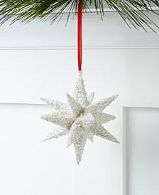 Shine Bright Glitter Star Ornament, Created for Macy's