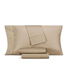 1000 Thread Count Cotton Blend Hemstitch Queen 4-Pc. Sheet Set