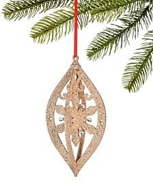 Shimmer & Light Gold Glitter Christmas Tree Ornament, Created for Macy's