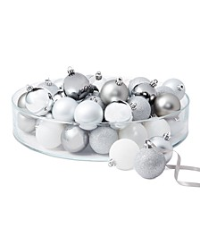 Shine Bright Set of 50 Shatterproof Ombré Ball Ornaments, Created for Macy's
