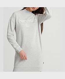 Women's Applique Sweat Dress