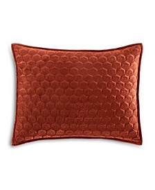LAST ACT! Feather Velvet Quilted Standard Sham, Created for Macy's