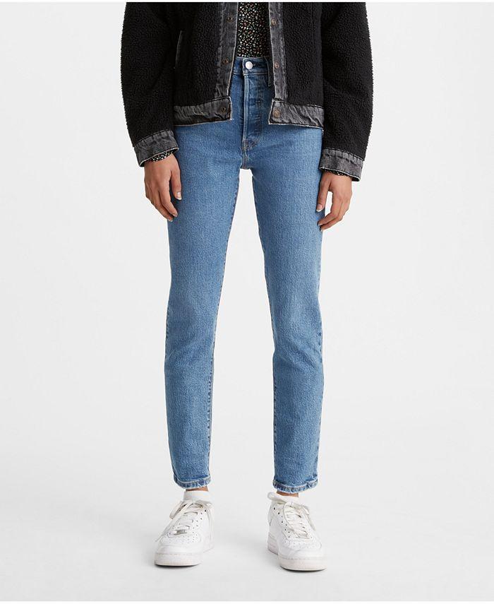 Levi's - 501 Distressed Skinny Jeans