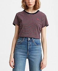 Perfect Cotton Striped T-Shirt