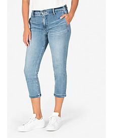 Jennifer High-Rise Elastic-Waist Jeans