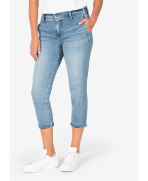 Kut From The Kloth KUT FROM THE KLOTH JENNIFER HIGH-RISE ELASTIC-WAIST JEANS