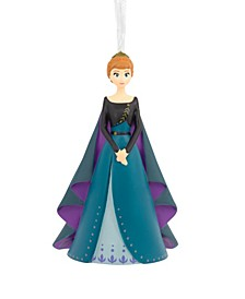 Disney Frozen 2 Queen Anna in Coronation Gown Christmas Ornament